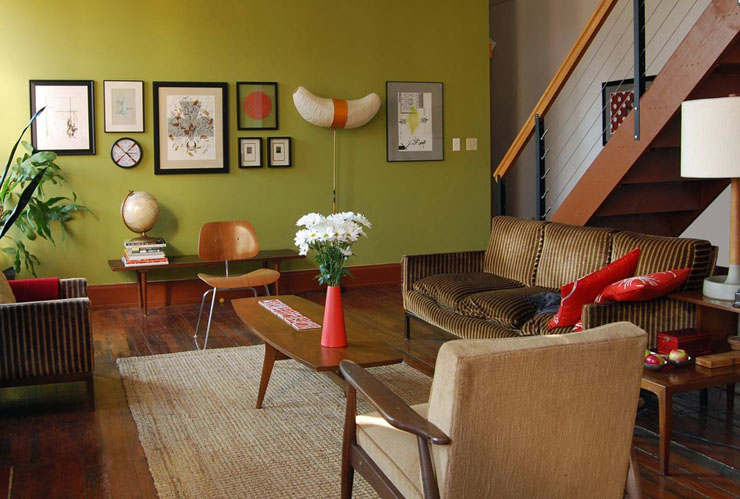 Mid-Century-Modern-Living-Room-Design