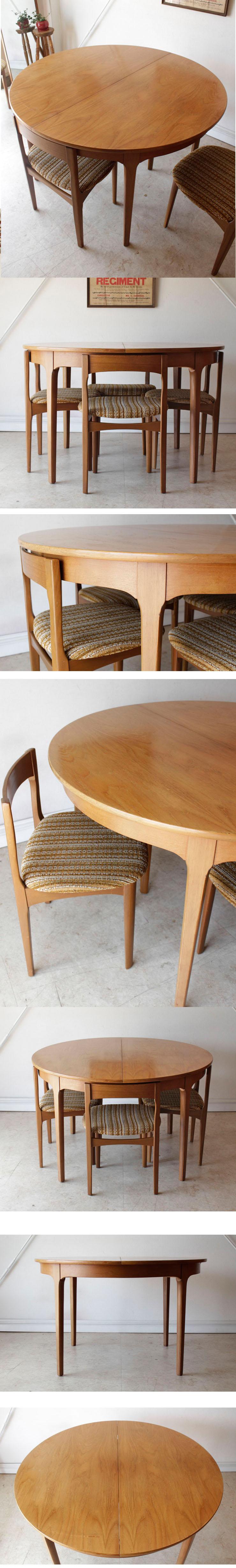 ネイサン・NATHAN・ダイニングテーブル・ダイニングチェア・ビンテージ・チーク・アンティーク・ミッドセンチュリー・家具