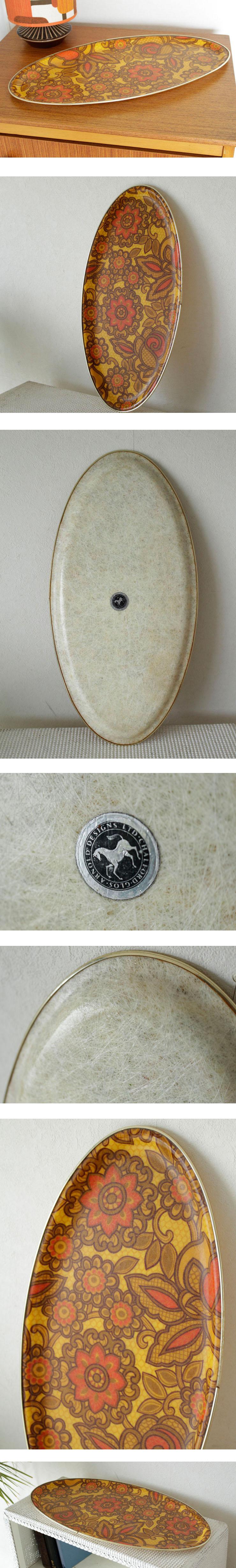 トレー・おぼん・ビンテージ・アンティーク・ブロカント・イギリス