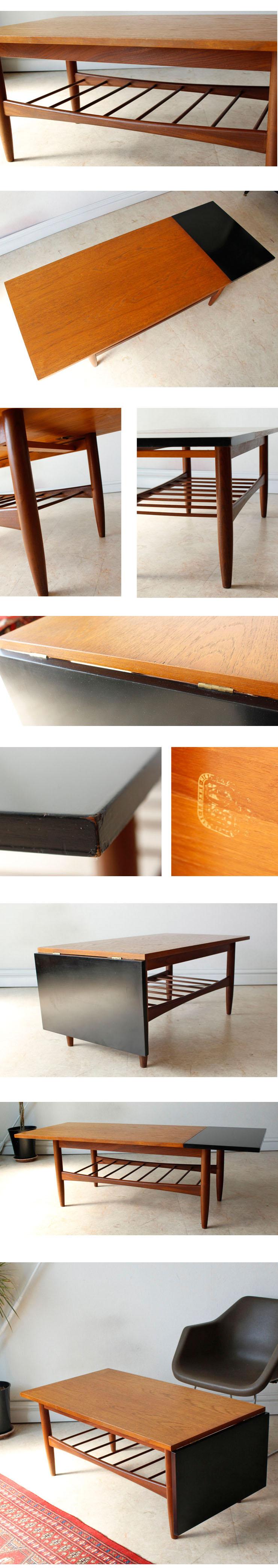 G-plan・ジープラン・コーヒーテーブル・ビンテージ・チーク・ミッドセンチュリー