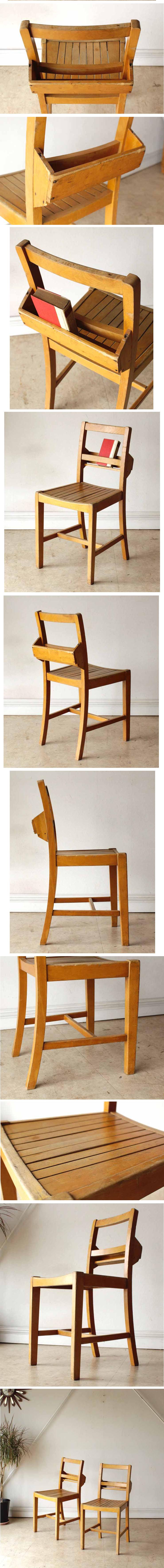 イギリス・チャーチチェア・椅子・無垢・アンティーク・ビンテージ・年代物