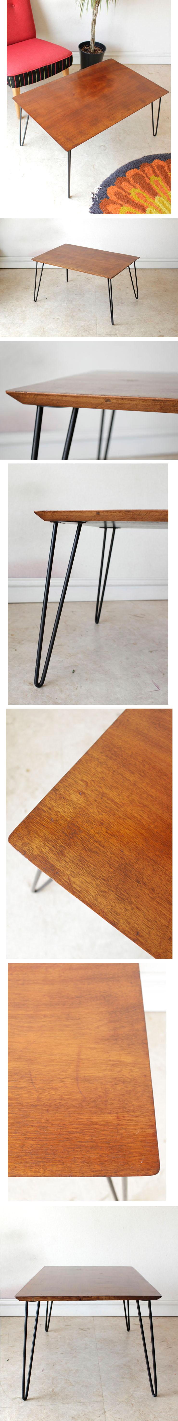 イギリス・ビンテージ・コーヒーテーブル・センターテーブル・ミッドセンチュリー・アンティーク・机