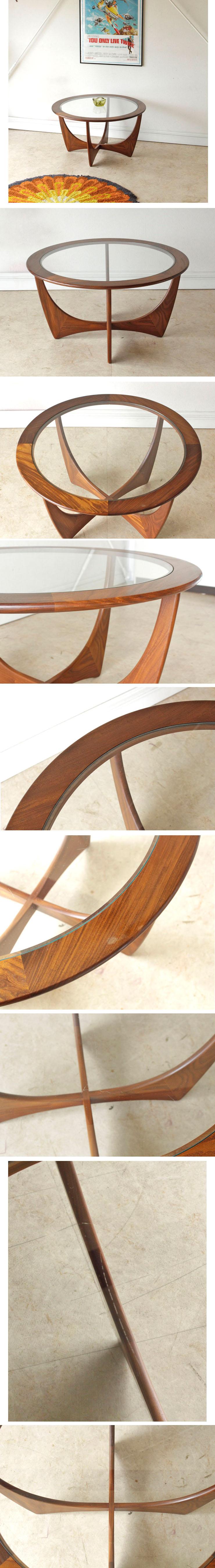 G-plan・ジープラン・コーヒーテーブル・ガラス・アストロ・チーク・アンティーク・ビンテージ・ミッドセンチュリー