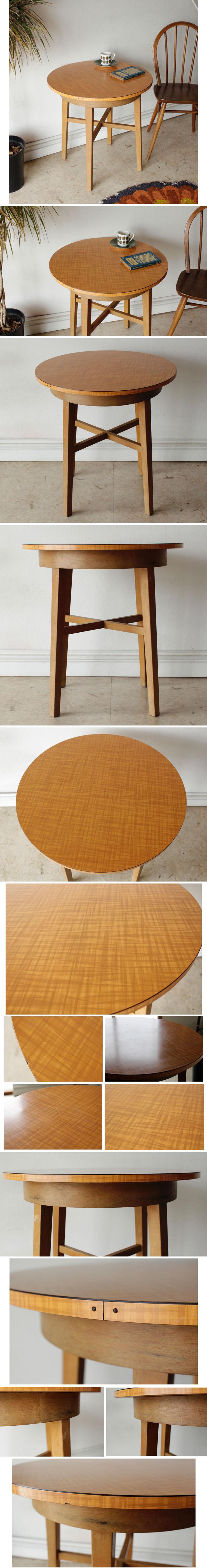 パブテーブル・カフェテーブル・コーヒーテーブル・ビンテージ・アンティーク・シャビー・什器・インテリア