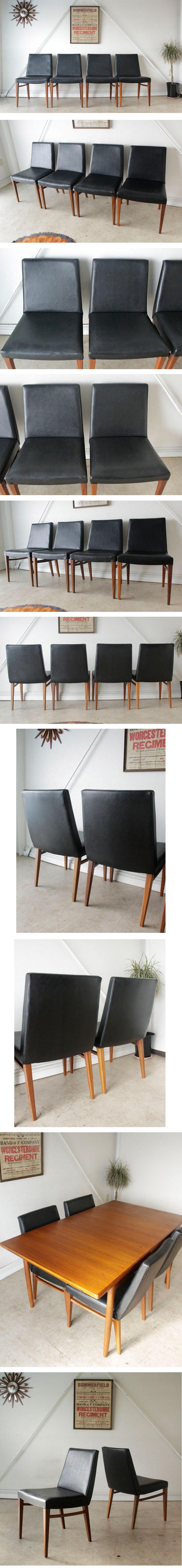 G-planジープラン・ダイニングチェア4脚セット・ビンテージ・チーク北欧家具