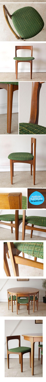 Nathanネイサンイギリス・ダイニングチェア4脚セット・アンティーク・ビンテージ