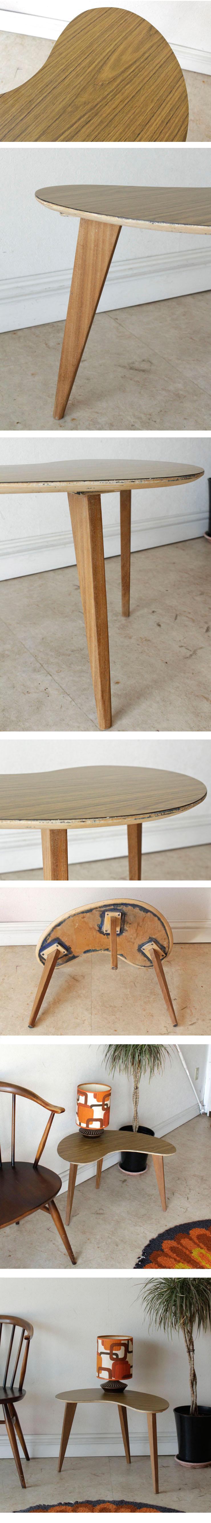 Kidneyキドニー・イギリス・サイドテーブル・コーヒーテーブル・ビンテージ・アンティーク