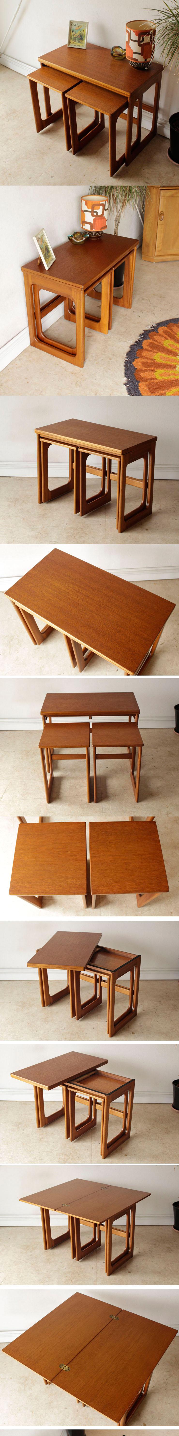 マッキントッシュ・ネストテーブル・コーヒーテーブル・ビンテージ・アンティーク・ミッドセンチュリー