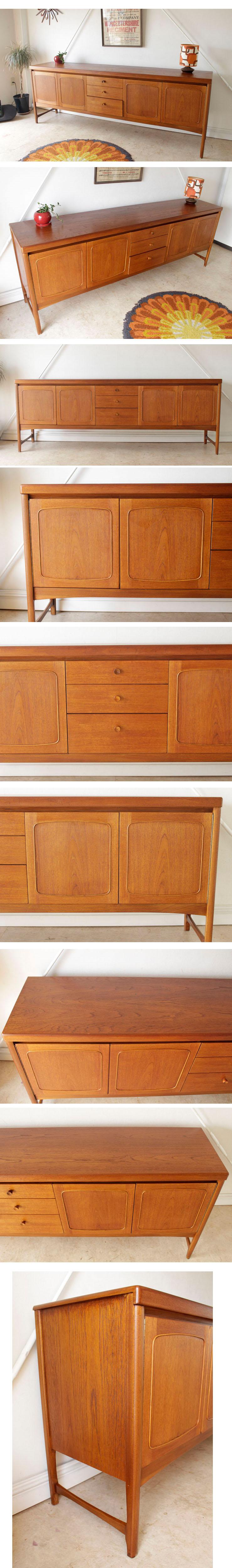 ネイサン・NATHAN・サイドボード・テレビボード・収納・ビンテージ・チーク・アンティーク・ミッドセンチュリー・北欧デザイン・家具