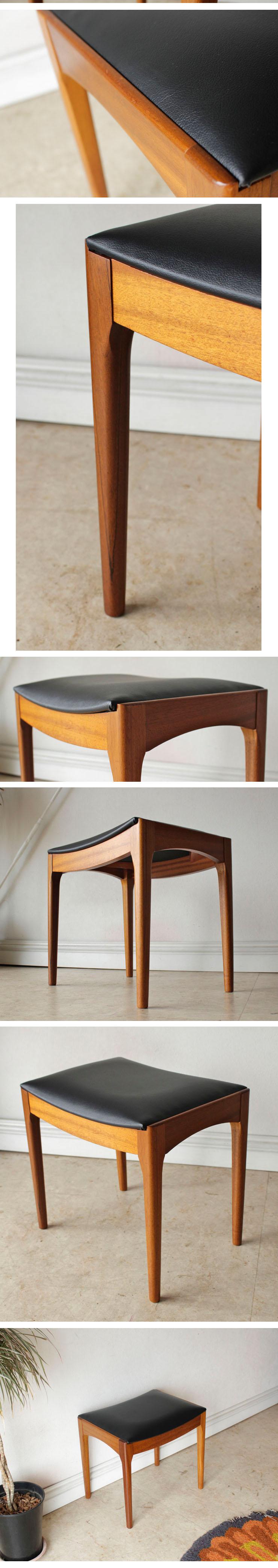 スツール・ビンテージ・アンティーク・チーク・椅子