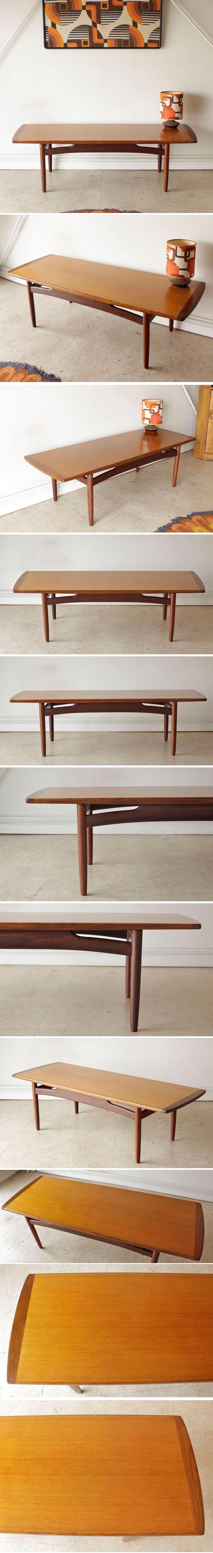 イギリス製G-planジープラン【チーク】ビンテージコーヒーテーブル北欧アンティーク輸入家具