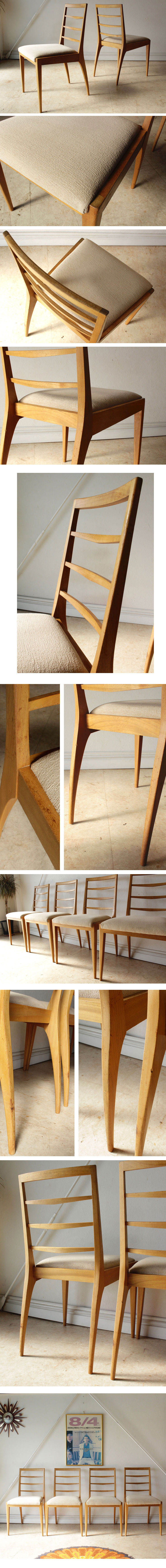 イギリス製ヴィンテージダイニングチェア椅子、マッキントッシュ製