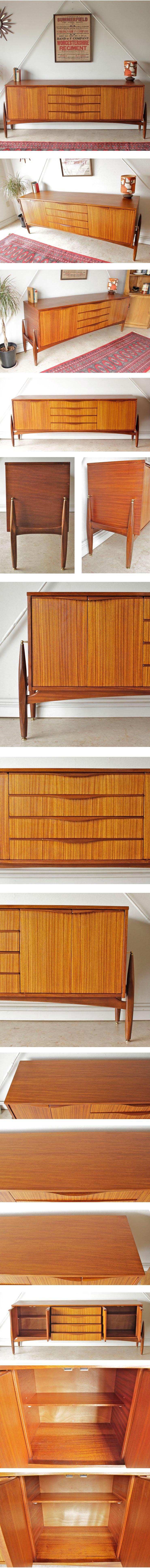 ローズウッド/イギリス製ビンテージ・サイドボードRoyal Heritage Family製/アンティーク・収納家具014034