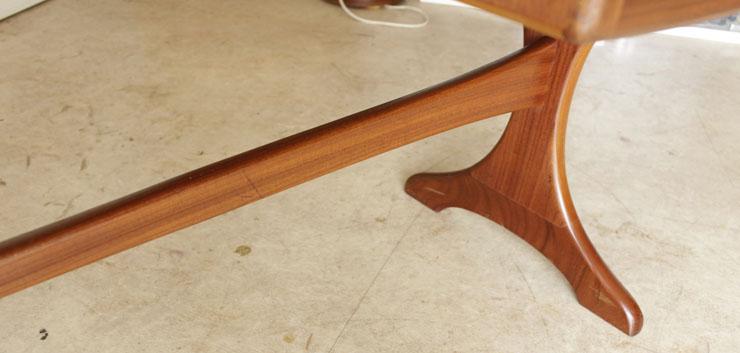 G-planジープラン【チーク】デスク・フレスコ/イギリス製ビンテージ家具ミッドセンチュリー北欧アンティーク輸入家具