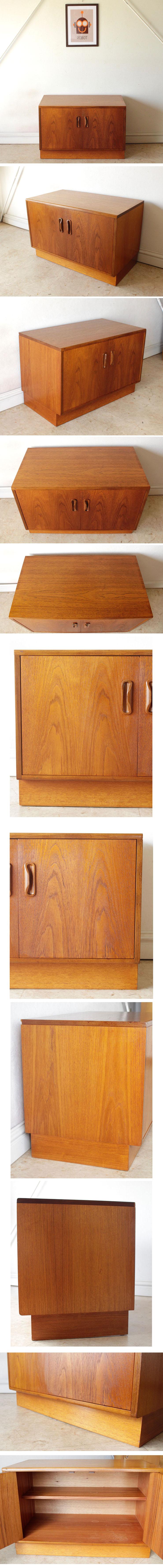 イギリス製G-planジープラン/サイドボード・テレビボード【コンパクトサイズ】/ローボード・ビンテージ家具ミッドセンチュリー014061