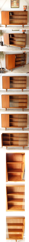 McIntoshマッキントッシュ・イギリス製ビンテージチーク・本棚・ブックケース/ミッドセンチュリー北欧アンティーク家具