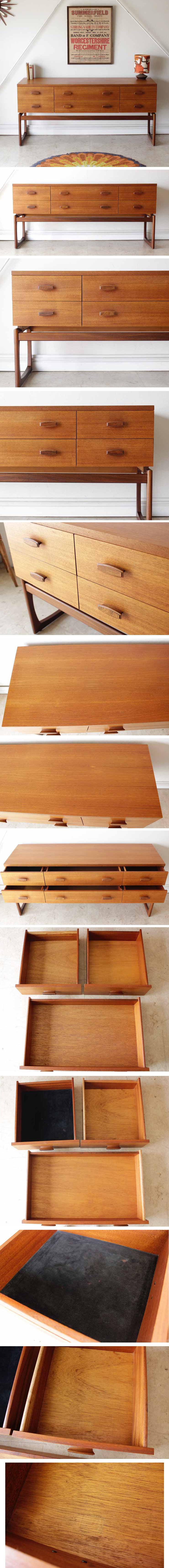G-plan・ジープラン・サイドボード・チェスト・ビンテージ・チーク・北欧家具