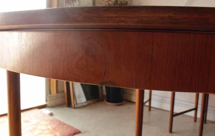 McIntosh(マッキントッシュ)製ダイニングテーブル&ダイニングチェア5点セット・ビンテージ・アンティーク北欧デザイン直輸入