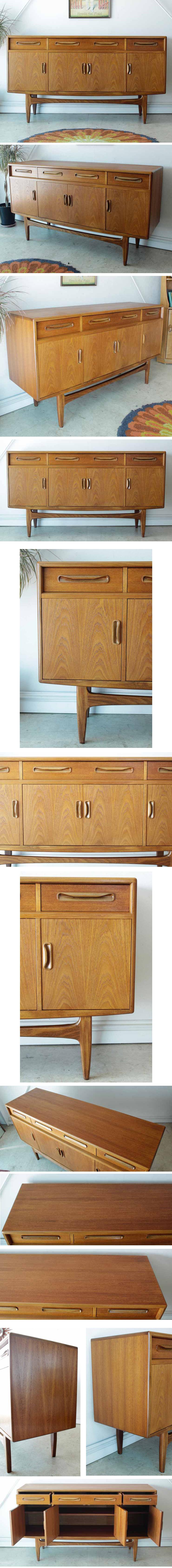 G-planジープラン【チーク】フレスコサイドボード/ビンテージ家具ミッドセンチュリー北欧アンティーク