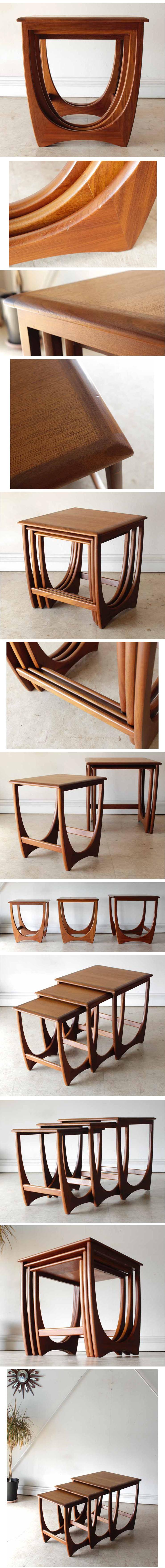 ジープラン・G-plan・ネストテーブル・コーヒーテーブル・ビンテージ・家具・アンティーク・北欧・インテリア