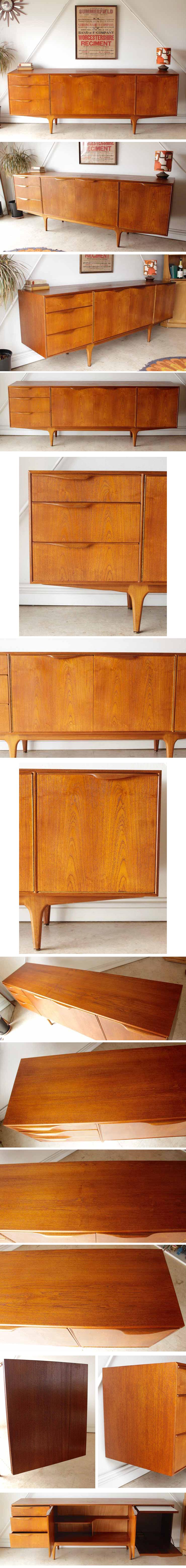 Mcintoshマッキントッシュサイドボード・イギリス製【チーク】ビンテージ家具/アンティーク・ミッドセンチュリー家具