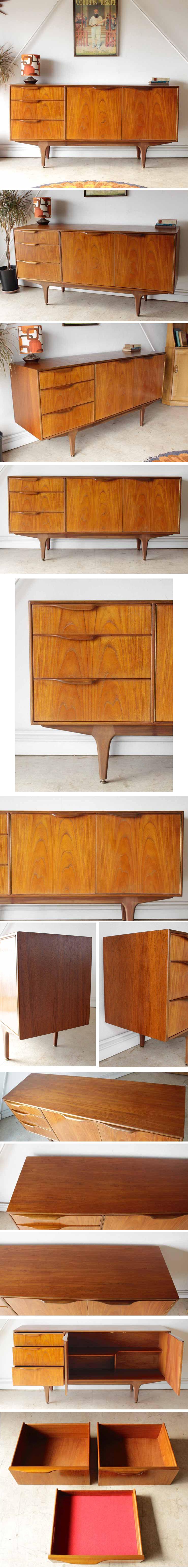 McIntoshマッキントッシュ製ビンテージチーク・サイドボード・テレビボード/イギリス製アンティーク家具ミッドセンチュリー輸入家具