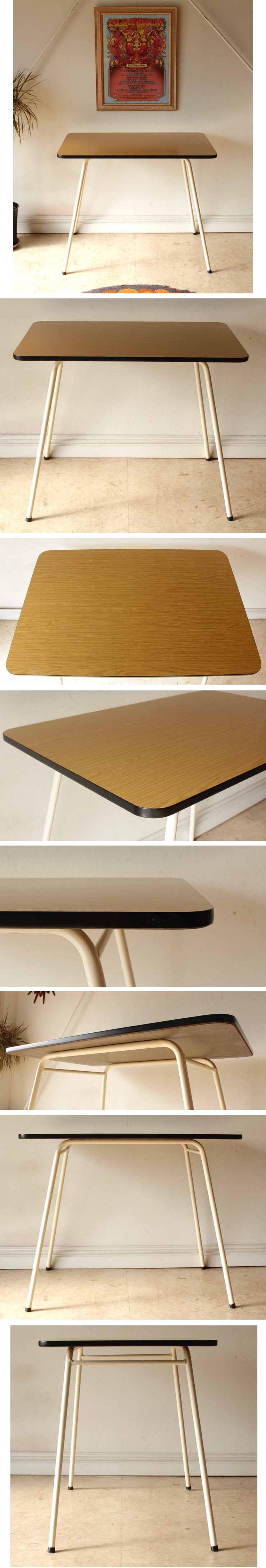ダイニングテーブル・フォーマイカ・ビンテージ・アンティーク・輸入家具・レトロ