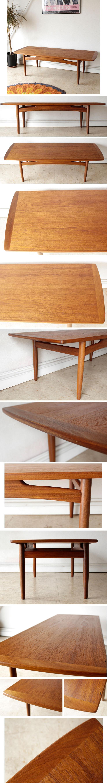 ジープラン・G-plan・コーヒーテーブル・センターテーブル・チーク・ビンテージ・アンティーク・イギリス・北欧・インテリア