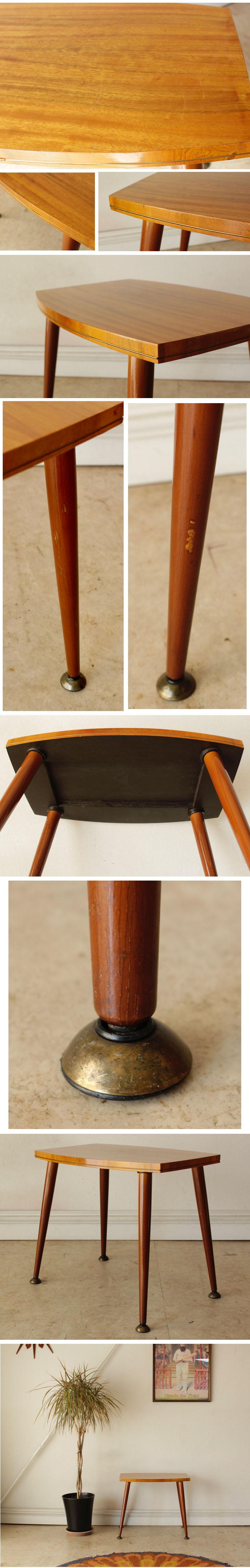 コーヒーテーブル・サイドテーブル・チーク・イギリス・ミッドセンチュリー・ビンテージ・アンティーク・北欧