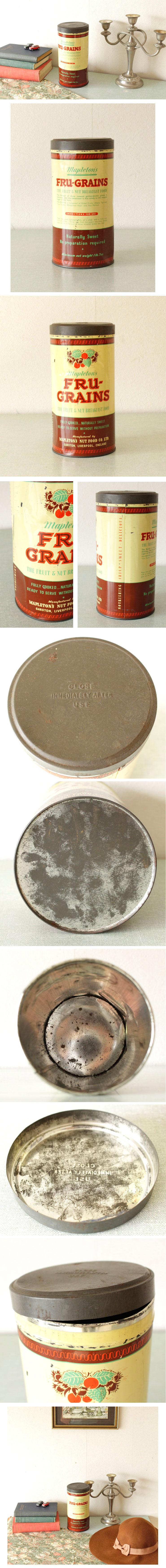 イギリス・缶・ティン・雑貨・シャビー・ブロカント・アンティーク・ビンテージ
